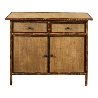 JW Custom Line Bamboo Cabinet/Console For Sale