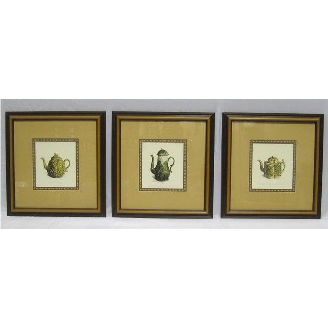 Sarreid LTD Framed Drawings of Vintage Pitchers - Set of 3 - Image 3 of 6