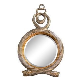 Mid 20th Century Maitland Smith Serpent Mirror For Sale