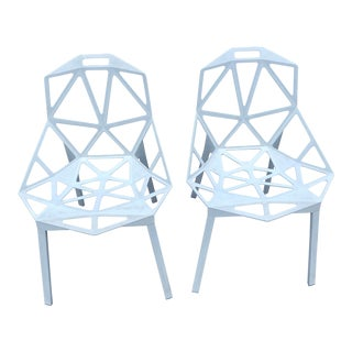 Konstatine Grcic for Magis Stackable Chairs - a Pair For Sale