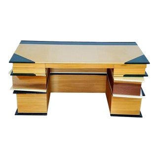 Stacked Books Desk For Sale