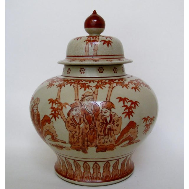 Chinese Ceramic Temple Jar - Image 2 of 6