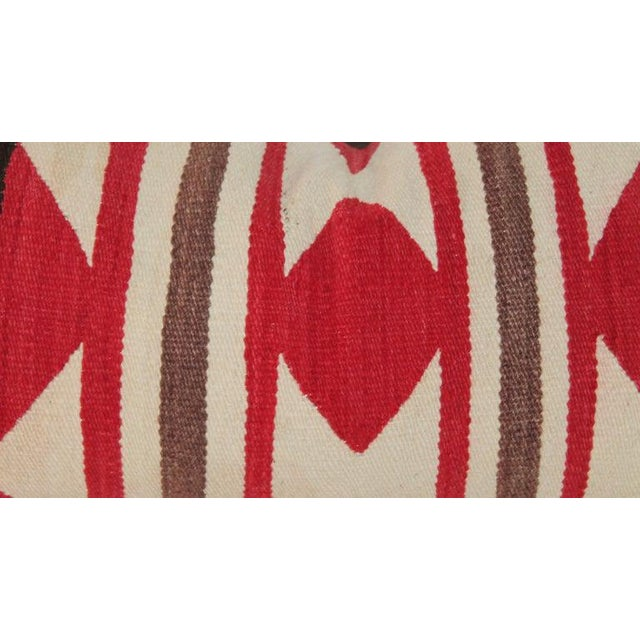 Navajo Saddle Blanket Bolster Pillows - Collection of 3 For Sale - Image 11 of 13