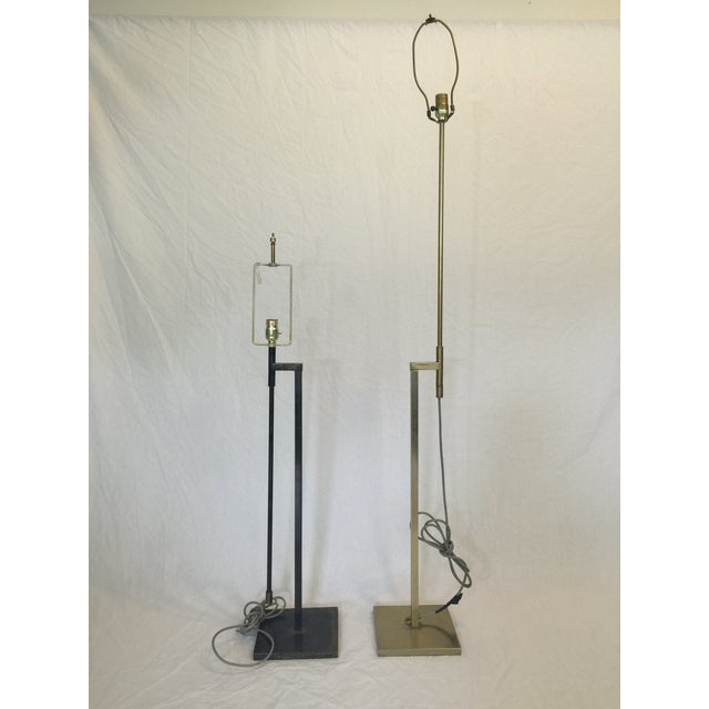 Vintage Laurel Adjustable Floor Lamps - A Pair - Image 3 of 11