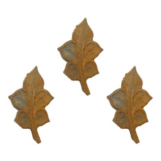 French Sculptural Iron Accents - Set of 3 For Sale