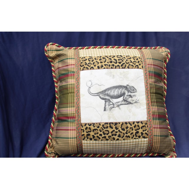 Late 20th C. Unusual Custom Pillow For Sale - Image 4 of 7