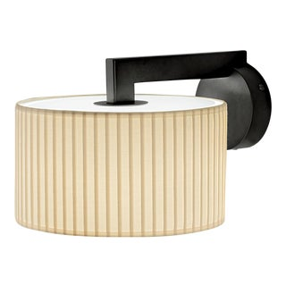 Art Deco Black Bronze Deco Style Wall Light With Shade