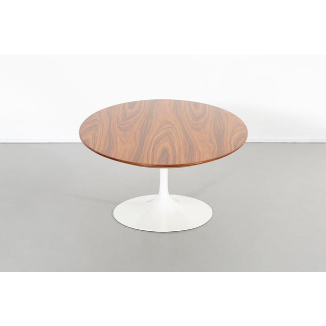 Mid-Century Modern Eero Saarinen for Knoll Rosewood Coffee Table 50th Anniversary Edition For Sale - Image 3 of 9