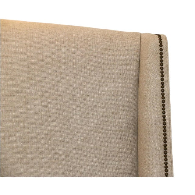 Restoration Hardware Warner Fabric King Bed - Image 10 of 10