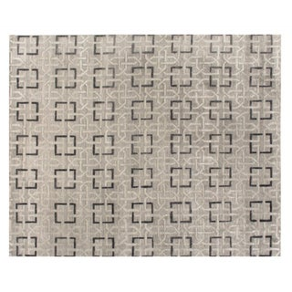 "Stark Studio Rugs Contemporary New Oriental Tibetan Rug - 8' X 10'3"" For Sale"