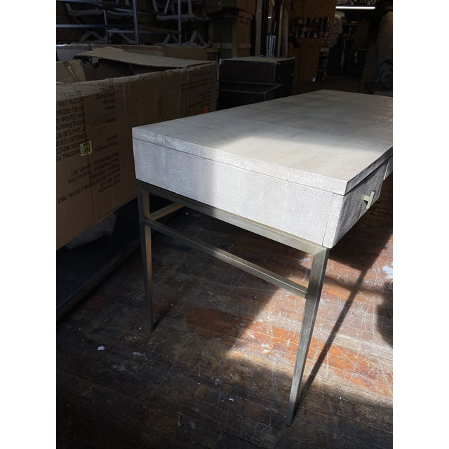 Modern Mitchell Gold + Bob Williams Solange Writing Desk For Sale - Image 3 of 9