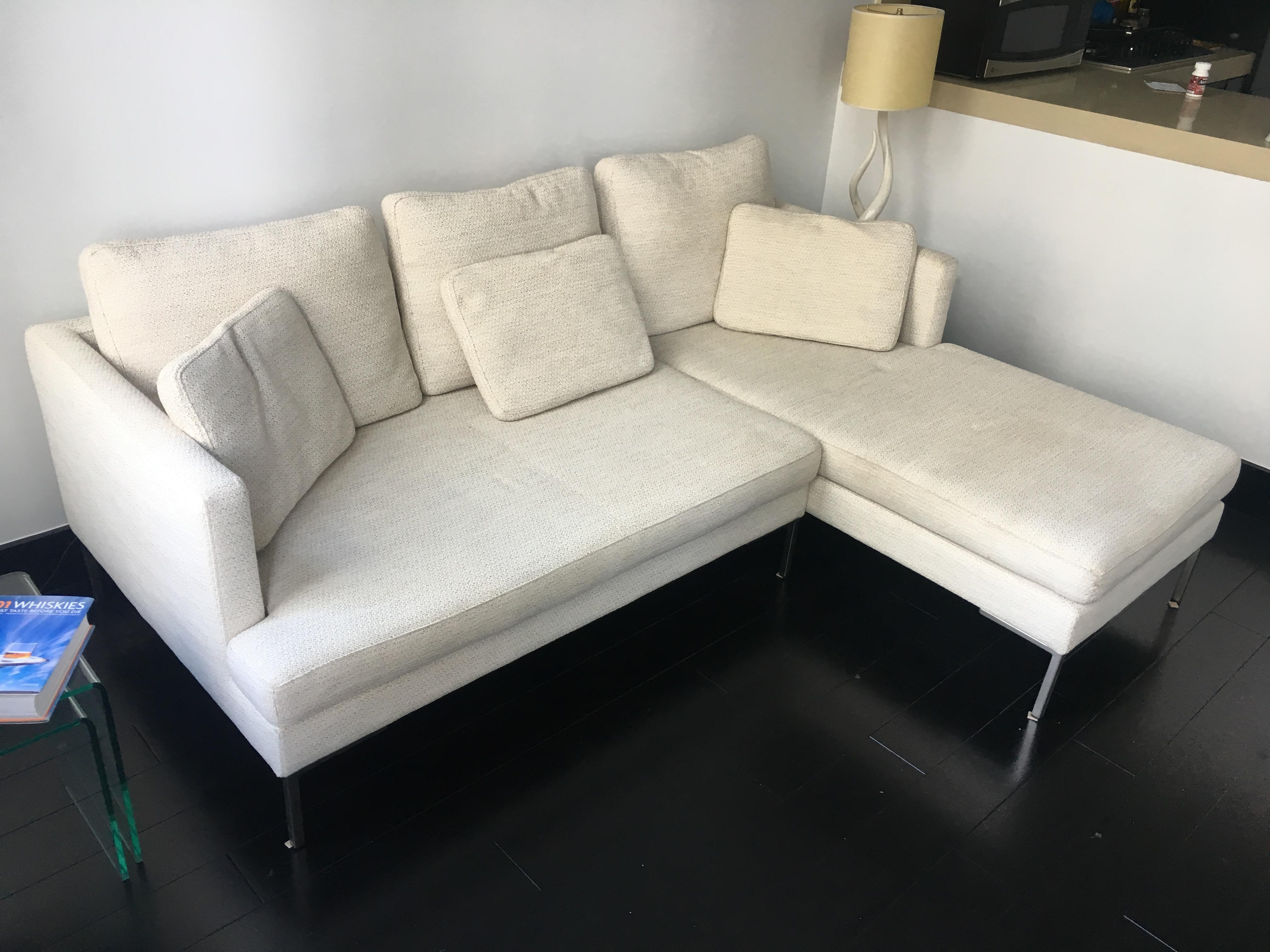 Up For Sale Is This Good Condition Boconcept Sofa. This Piece Was Purchased  About 5