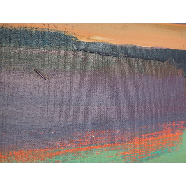 """Abstract Southwestern Landscape """"Twilight"""", Jamie Chase For Sale In New York - Image 6 of 10"""