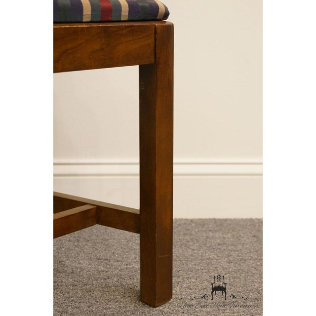 Late 20th Century Drexel Heritage Chippendale Style Dining Chair For Sale - Image 10 of 13