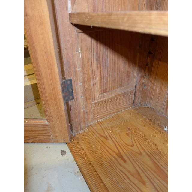 Antique Upper Kitchen Cabinet For Sale In Chicago - Image 6 of 7