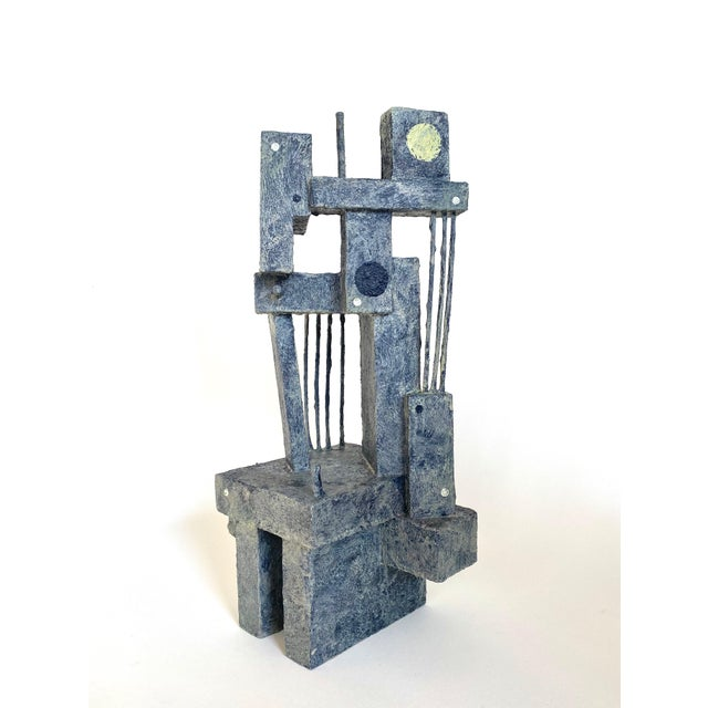 Mid-Century Modernist / Cubist Sculpture For Sale In Oklahoma City - Image 6 of 6