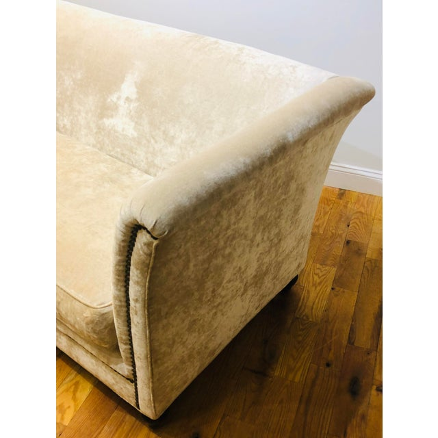 Dapha Upholstery Beige Sofa For Sale - Image 4 of 13