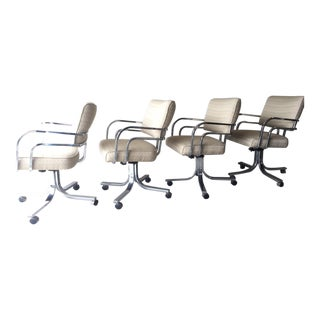 Chrome Dining/Office Chairs