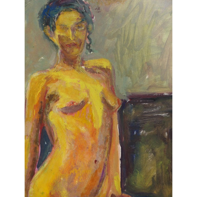 Figurative Painting, Standing Nude Portrait For Sale In Los Angeles - Image 6 of 7