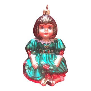 "Christopher Radko - Olive May Marie Osmond Ornament 5 1/2"" Tall For Sale"