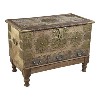 20th Century Moroccan Storage Chest For Sale