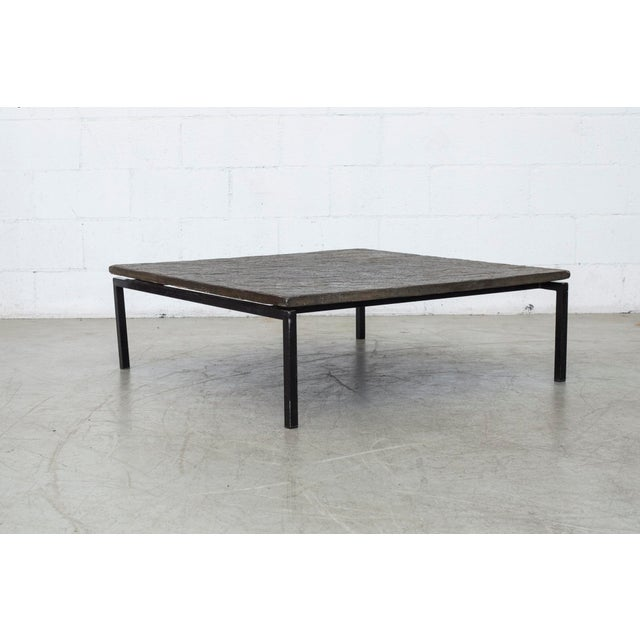 Square Stone Top Coffee Table - Image 9 of 9