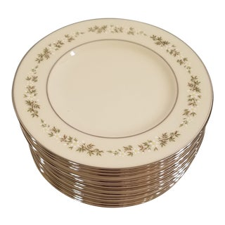 Lenox Brookdale Bread Plates - Set of 13 For Sale