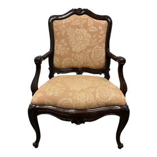 Michael Taylor Italian Rococo Arm Chair For Sale