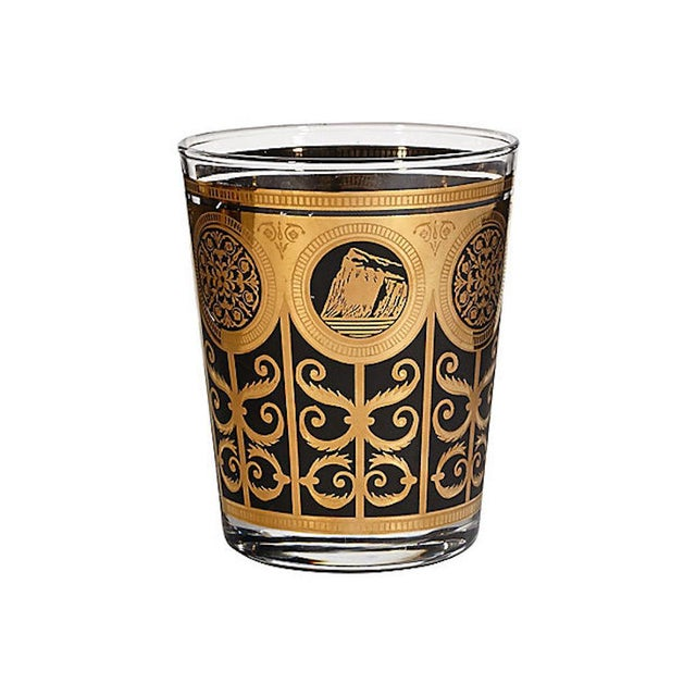 1960s Large Old Fashioned Tumblers, Set of 7 For Sale - Image 4 of 5