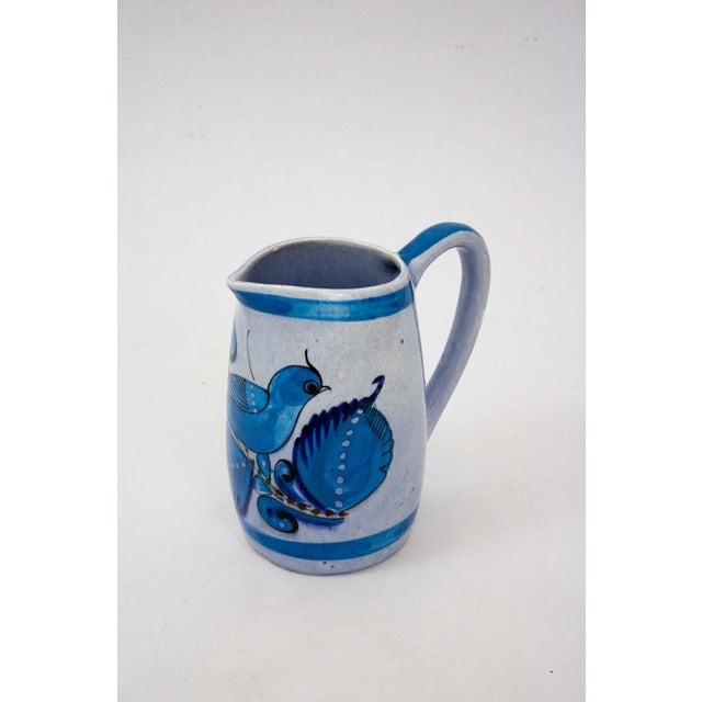 Ceramic Vintage Mid-Century Mexican Ceramic Pitcher For Sale - Image 7 of 7