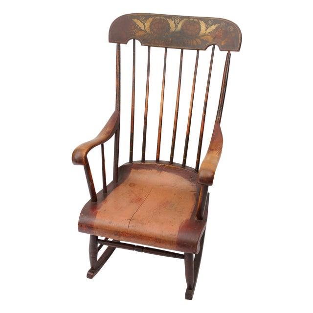 Antique Boston Rocker Nursing Chair - Antique Boston Rocker Nursing Chair Chairish