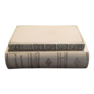 Book Spine Box With Lid For Sale