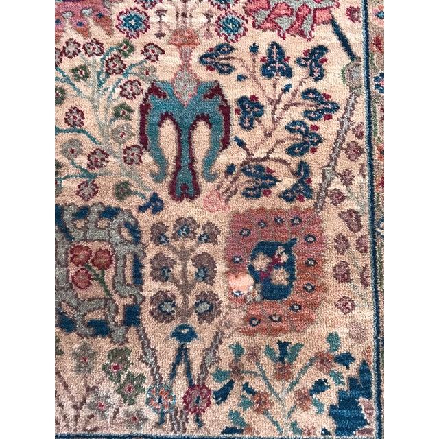 Late 20th Century Karastan Wool Samovar Tea Wash Rug-5′9″ × 9′ For Sale - Image 5 of 8
