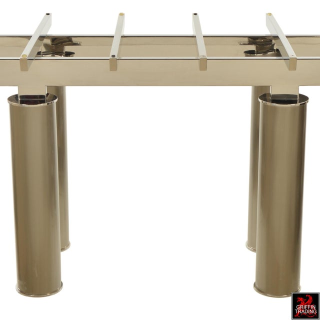Contemporary Brueton Dining Table by Tamarkin-Techler Group For Sale - Image 3 of 10