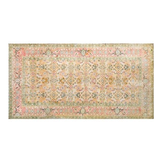 1920s Vintage Cotton Agra Rug - 3'x6' For Sale