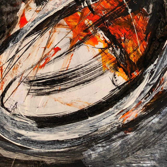 "Abstract Marko Kratohvil ""Momentum Ii"" Contemporary Painting For Sale - Image 3 of 5"