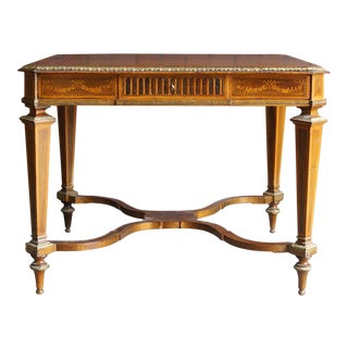Antique French Regency Writing Desk For Sale