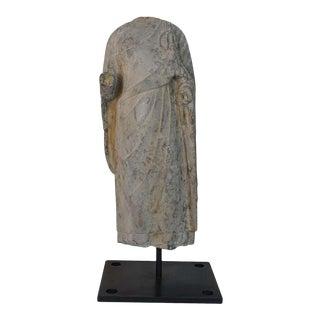 Torso of a Standing Buddha For Sale