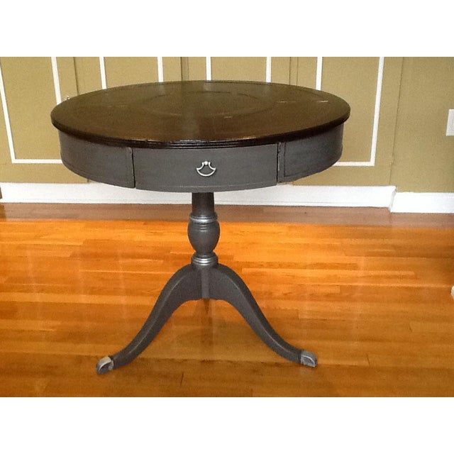 Upcycled Vintage Drum Table For Sale - Image 11 of 11