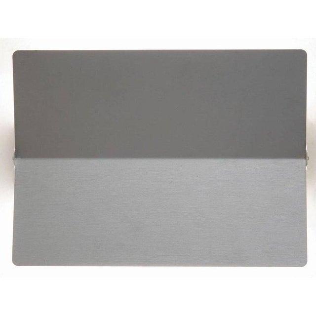 Mid-Century Modern Large Charlotte Perriand 'Applique à Volet Pivotant Plié' Wall Light in Aluminum For Sale - Image 3 of 8
