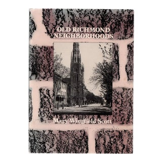 "1984 ""Old Richmond Neighborhoods"" Coffee Table Book For Sale"