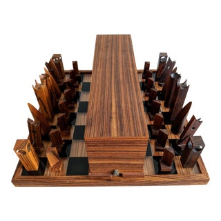 Millennium Three Rosewood Chess Set