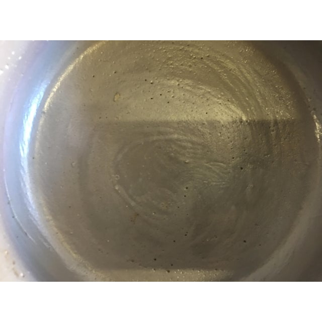 Vintage Decorative Rustic Gray Bowl For Sale In Los Angeles - Image 6 of 8