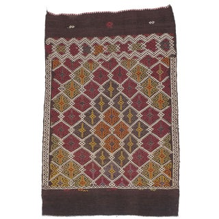 Tribal Bag Face Small Kilim For Sale
