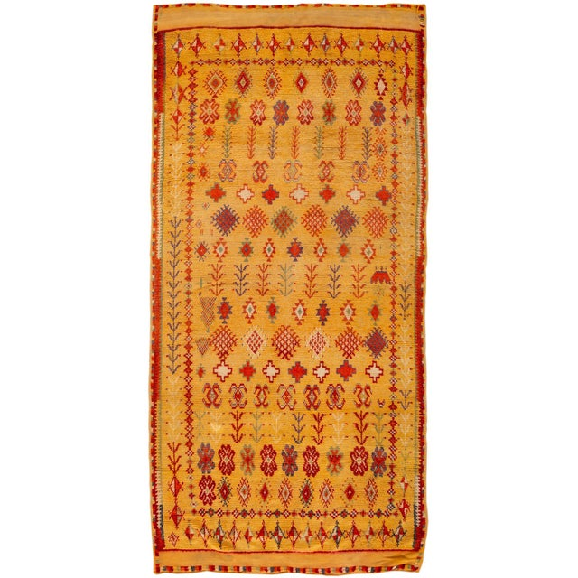 """Antique Moroccan Rug, 3'10"""" X 6'2"""" For Sale - Image 10 of 10"""