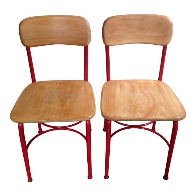 Vintage Heywood Wakefield Side Chairs - Set of 4 For Sale