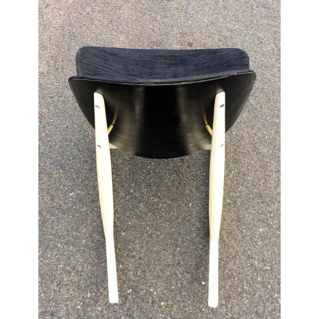 "Kodawood 1960s Vintage Kodawood ""Oyster"" Rocking Chair For Sale - Image 4 of 6"