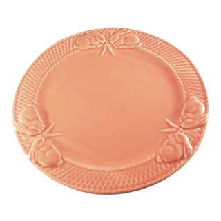 Bordallo Pinheiro Pink Rabbit Dinner Plates - Set of 4