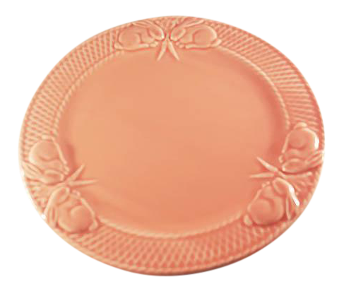 sc 1 st  Chairish & Bordallo Pinheiro Pink Rabbit Dinner Plates - Set of 4 | Chairish