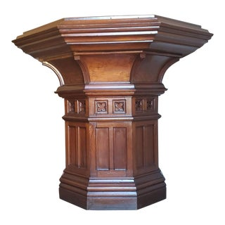 19th Century Victorian Gothic Revival French Altar For Sale